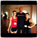 Aundra and I with our Reebok CrossFit line coach
