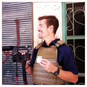 James Foley, Aleppo, Syria – 07/12. Photo: Nicole Tung.