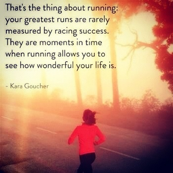 Thing about running