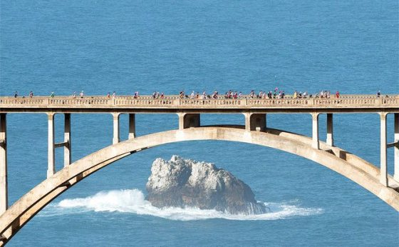 Running this bridge in less than one week! (Source: Big Sur Facebook Page)
