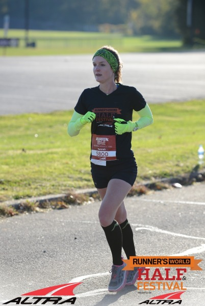 This was the hill that did me in--look at that *actual* pain face.